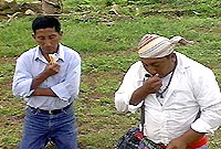 'Curanderos' or traditional Maya Healers